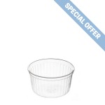135ml Clear Ribbed Container [HW135RE]